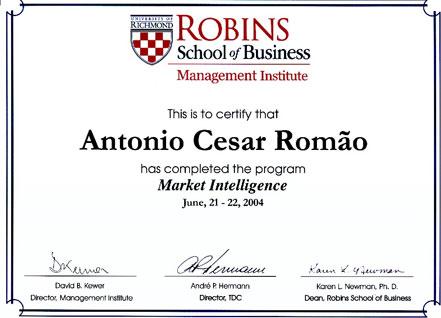 Curso de Extensão em Inteligência de Mercado