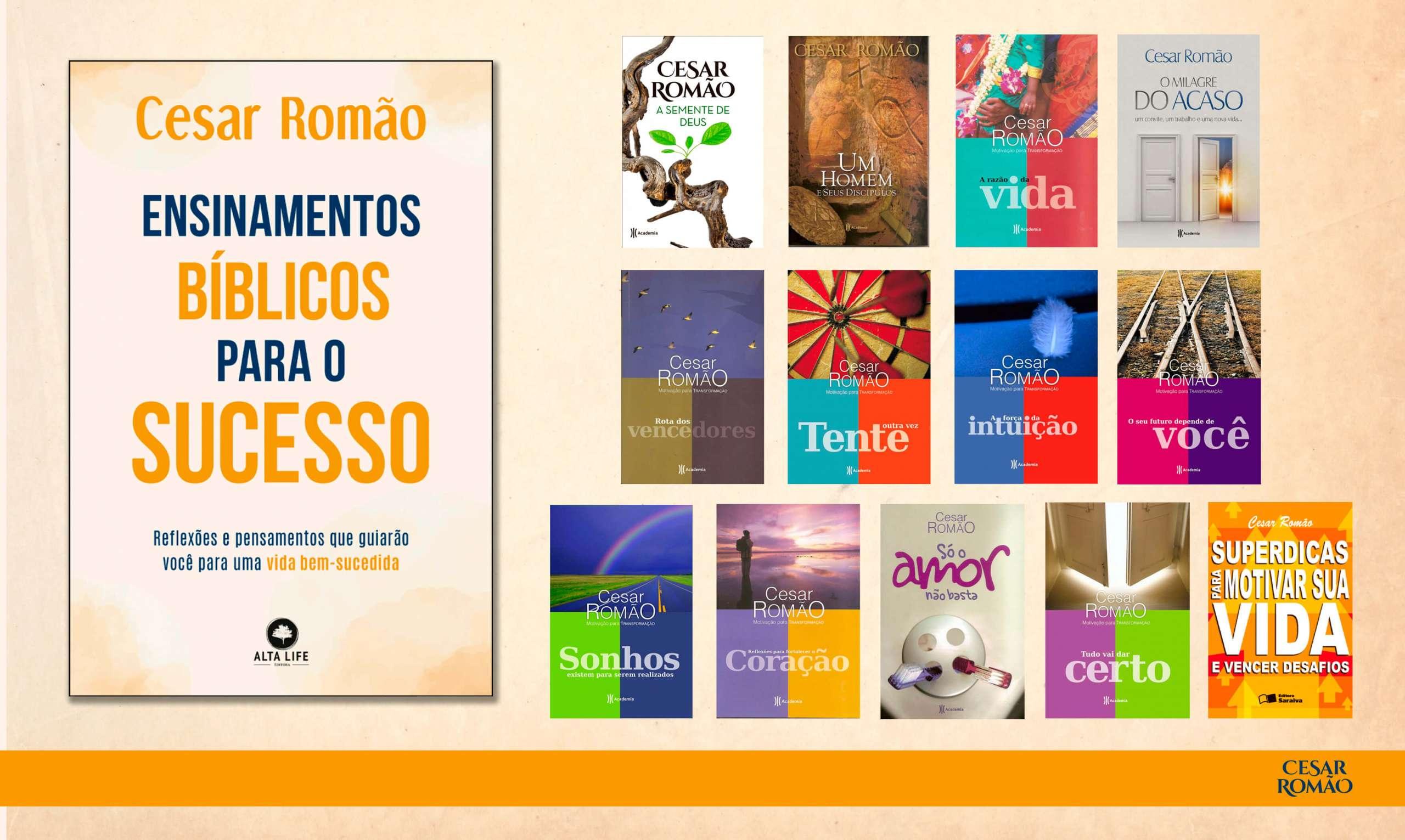 Livros Cesar Romão